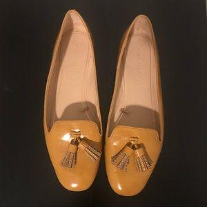 Zara Mustard/Tan flats